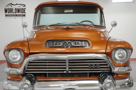 1957 GMC 100 EXTREMELY RARE NAPCO BIG BACK WINDOW! 327V8    Denver, CO   Worldwide Vintage Autos in Denver, CO