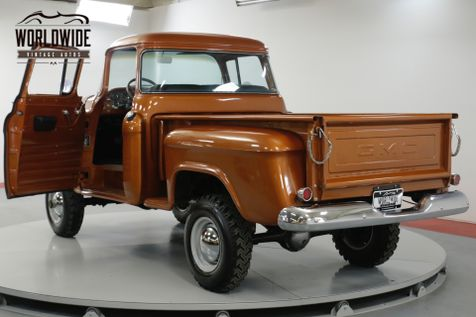 1957 GMC 100 EXTREMELY RARE NAPCO BIG BACK WINDOW! 327V8  | Denver, CO | Worldwide Vintage Autos in Denver, CO