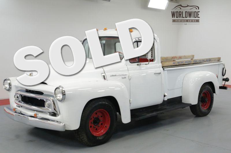 1957 International S120 PICKUP RESTORED ORIGINAL CLEAN!  | Denver, CO | Worldwide Vintage Autos