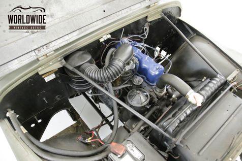 1957 Jeep CJ  RESTORED M38 TRIBUTE CJ. 4x4. ACCESSORIES | Denver, CO | Worldwide Vintage Autos in Denver, CO