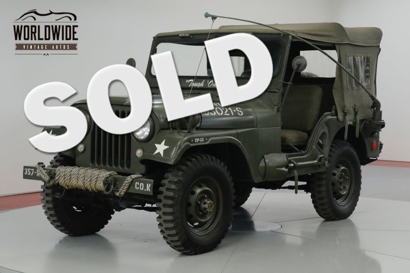 1957 Jeep CJ  RESTORED M38A1 TRIBUTE CJ. 4x4. ACCESSORIES | Denver, CO | Worldwide Vintage Autos