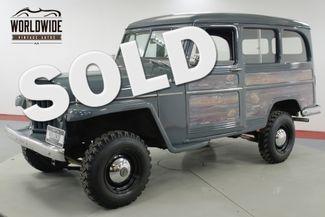 1957 Jeep WILLYS RESTORED RARE VINTAGE 4x4 PS V8  | Denver, CO | Worldwide Vintage Autos in Denver CO