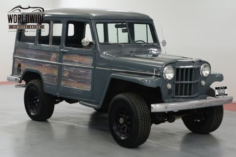 1957 Jeep WILLYS RESTORED. RARE VINTAGE 4x4. PS. V8!   Denver, CO   Worldwide Vintage Autos in Denver, CO