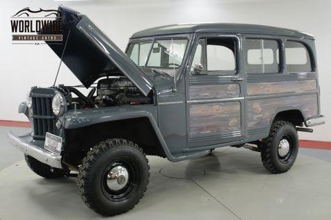 1957 Jeep WILLYS RESTORED RARE VINTAGE 4x4 PS V8    Denver, CO   Worldwide Vintage Autos in Denver, CO
