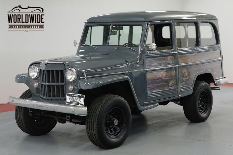 1957 Jeep WILLYS RESTORED. RARE VINTAGE 4x4. PS. V8!   Denver, CO   Worldwide Vintage Autos
