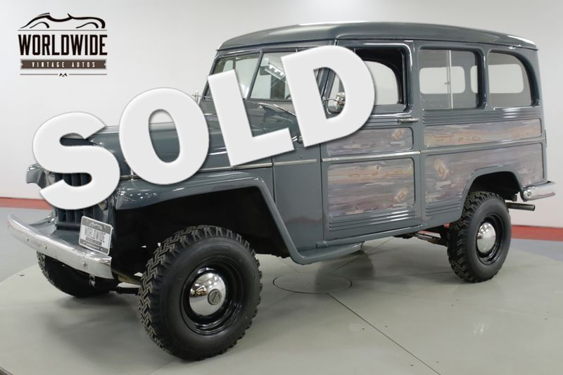 1957 Jeep WILLYS RESTORED RARE VINTAGE 4x4 PS V8    Denver, CO   Worldwide Vintage Autos