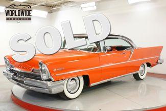 1957 Lincoln PREMIERE COLLECTOR CHROME 368 V8 PS PB RARE COUPE   Denver, CO   Worldwide Vintage Autos in Denver CO