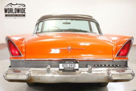 1957 Lincoln PREMIERE COLLECTOR CHROME 368 V8 PS PB RARE COUPE | Denver, CO | Worldwide Vintage Autos in Denver, CO
