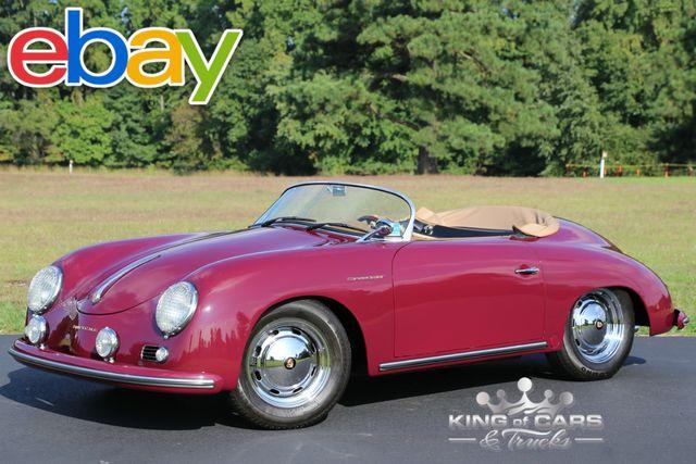 1957 Porsche 356 Speedster CONVERTIBLE BECK 271 6K MILES LIKE NEW ROADSTER