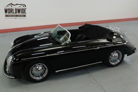 1957 Porsche SPEEDSTER VINTAGE SPEEDSTER BUILD! 4 WHEEL DISC 1600CC  | Denver, CO | Worldwide Vintage Autos in Denver, CO