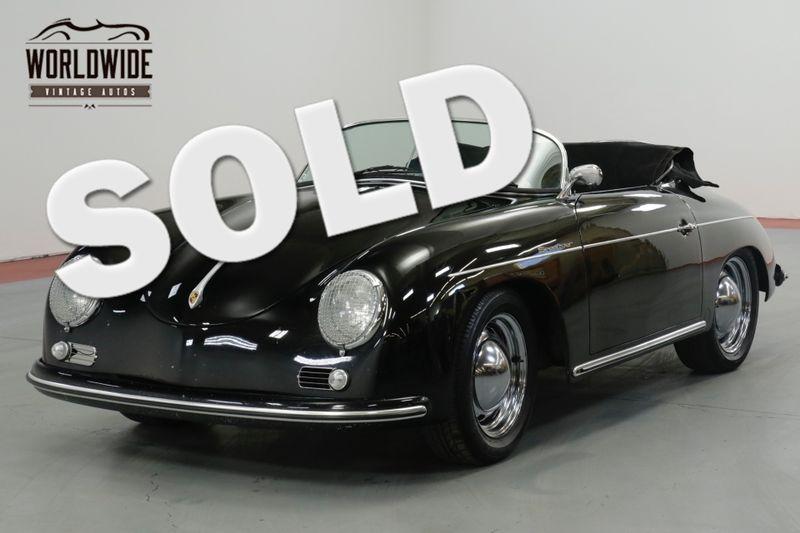 1957 Porsche SPEEDSTER VINTAGE SPEEDSTER BUILD! 4 WHEEL DISC 1600CC  | Denver, CO | Worldwide Vintage Autos