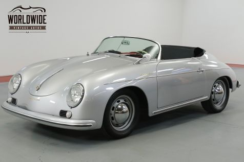 1957 Porsche SPEEDSTER REPLICA STUNNING 356 REPLICA. MANY TASTEFUL UPGRADES  | Denver, CO | Worldwide Vintage Autos in Denver, CO