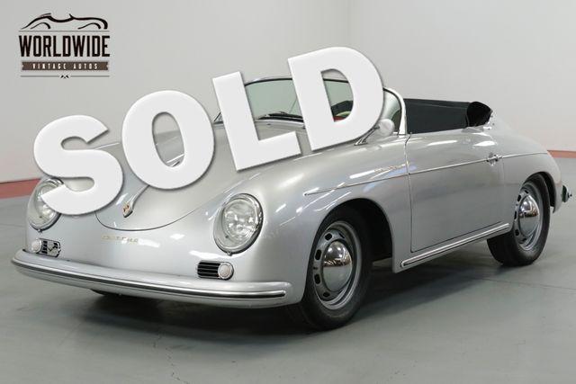 1957 Porsche SPEEDSTER REPLICA STUNNING 356 REPLICA. MANY TASTEFUL UPGRADES  | Denver, CO | Worldwide Vintage Autos in Denver CO