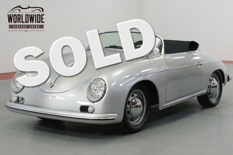 1957 Porsche SPEEDSTER REPLICA STUNNING 356 REPLICA. MANY TASTEFUL UPGRADES    Denver, CO   Worldwide Vintage Autos