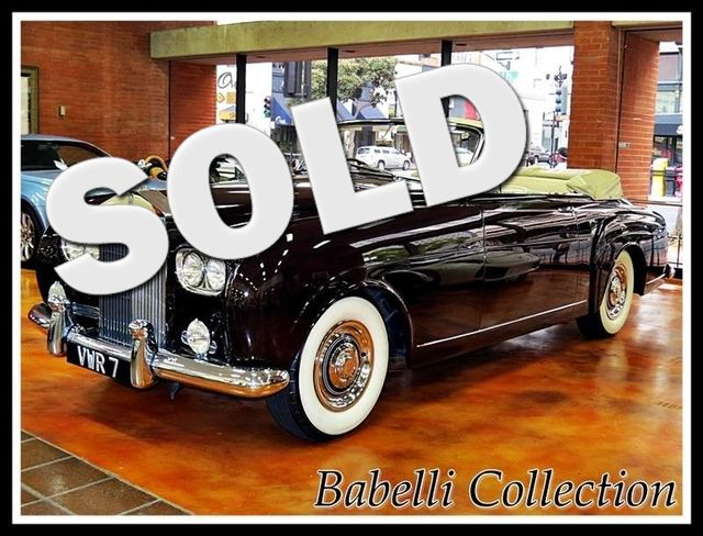 1957 Rolls-Royce Camargue La Jolla, California 0