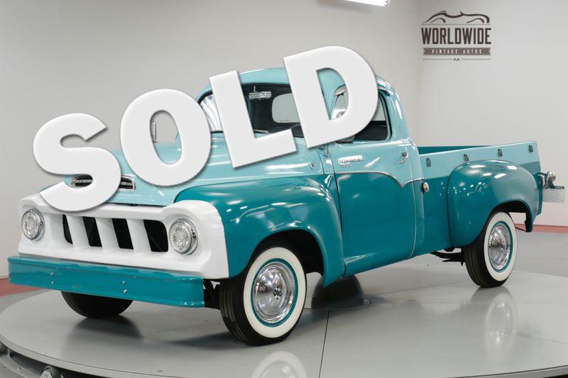 1957 Studebaker TRANSTAR FRAME OFF RESTORED RARE TRANSTAR DELUXE V8    Denver, CO   Worldwide Vintage Autos