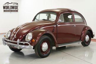 1957 Volkswagen BEETLE RARE OVAL WINDOW. NEWER TOTAL REBUILD | Denver, CO | Worldwide Vintage Autos in Denver CO