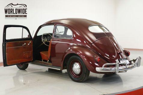 1957 Volkswagen BEETLE RARE OVAL WINDOW. NEWER TOTAL REBUILD | Denver, CO | Worldwide Vintage Autos in Denver, CO