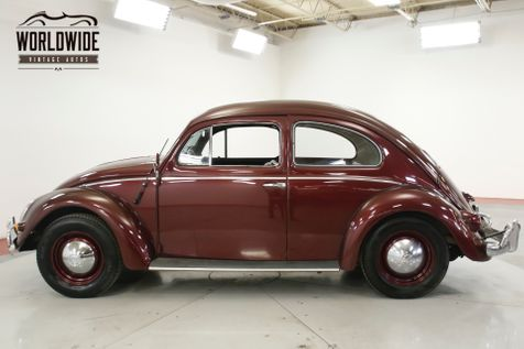 1957 Volkswagen BEETLE RARE OVAL WINDOW. NEWER TOTAL REBUILD | Denver, CO | Worldwide Vintage Autos in Denver, CO