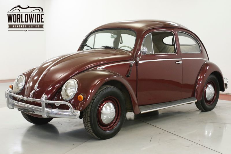 1957 Volkswagen BEETLE RARE OVAL WINDOW. NEWER TOTAL REBUILD | Denver, CO | Worldwide Vintage Autos