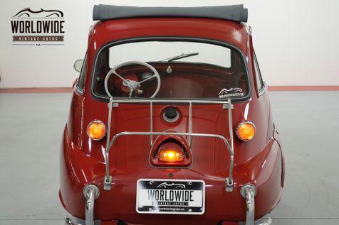 1958 BMW ISETTA 300. RESTORED. RARE COLLECTOR. COMMANDS ATTN | Denver, CO | Worldwide Vintage Autos in Denver, CO