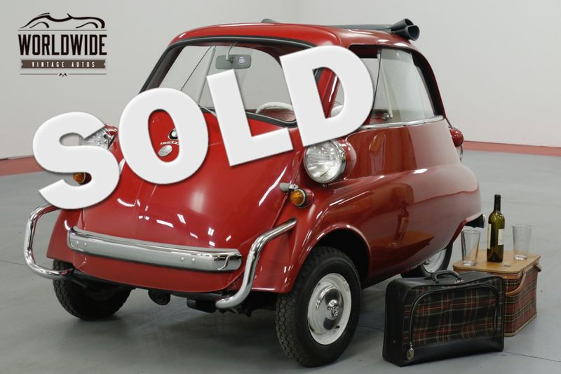 1958 BMW ISETTA 300. RESTORED. RARE COLLECTOR. COMMANDS ATTN | Denver, CO | Worldwide Vintage Autos