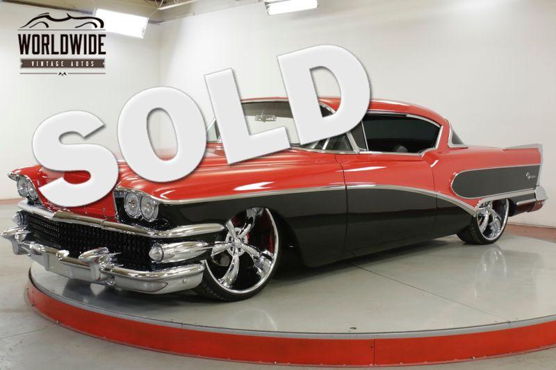 1958 Buick SPECIAL RESTORED CUSTOM $15K+ IN CHROME AIR RIDE V8    Denver, CO   Worldwide Vintage Autos
