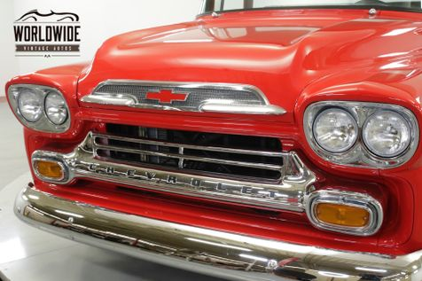 1958 Chevrolet APACHE  POWER STEERING DUAL EXHAUST  | Denver, CO | Worldwide Vintage Autos in Denver, CO