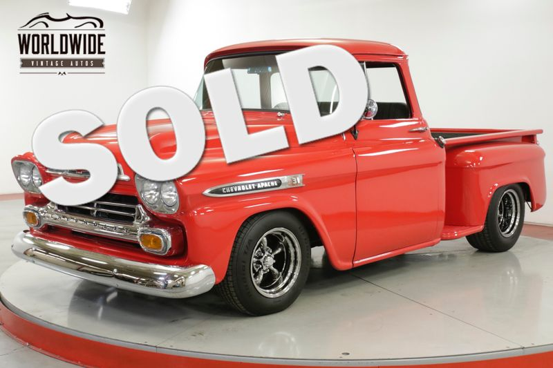1958 Chevrolet APACHE POWER STEERING DUAL EXHAUST | Denver, CO | Worldwide  Vintage Autos | Denver CO 80216
