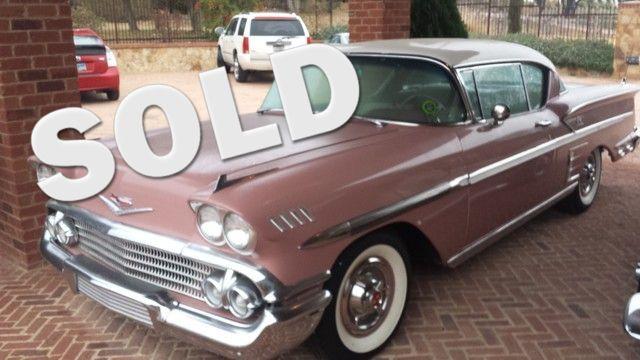 1958 Chevrolet Impala 1800 Series Liberty Hill, Texas