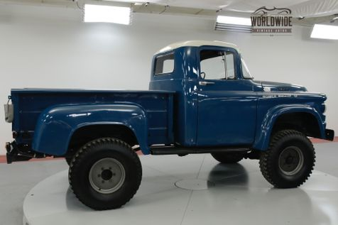 1958 Dodge POWER WAGON  RARE LIFTED 4X4 273 V8 AUTOMATIC    Denver, CO   Worldwide Vintage Autos in Denver, CO