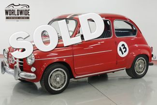 1958 Fiat 600 TURBO $35K+ BUILD MAGAZINE CAR COIL 4W DISC | Denver, CO | Worldwide Vintage Autos in Denver CO
