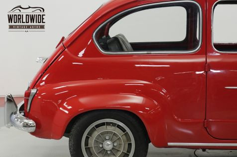 1958 Fiat 600 TURBO $35K+ BUILD MAGAZINE CAR COIL 4W DISC | Denver, CO | Worldwide Vintage Autos in Denver, CO