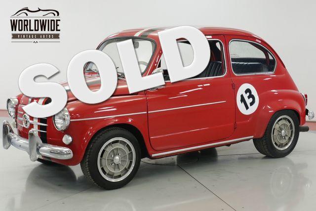 1958 Fiat 600 TURBO $35K+ BUILD MAGAZINE CAR COIL 4W DISC   Denver, CO   Worldwide Vintage Autos in Denver CO