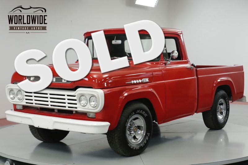 1958 Ford F100 RESTORED ,V8, 351,AUTO HOT ROD  | Denver, CO | Worldwide Vintage Autos