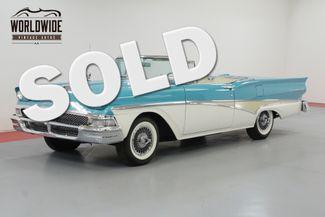 1958 Ford FAIRLANE TWO OWNER RETRACTABLE! INTERCEPTOR ENGINE! | Denver, CO | Worldwide Vintage Autos in Denver CO