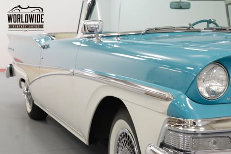 1958 Ford FAIRLANE TWO OWNER RETRACTABLE! INTERCEPTOR ENGINE! | Denver, CO | Worldwide Vintage Autos in Denver, CO