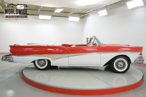 1958 Ford FAIRLANE SKYLINER! RESTORED RED/WHITE V8 RARE | Denver, CO | Worldwide Vintage Autos in Denver, CO