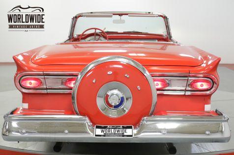 1958 Ford FAIRLANE SKYLINER! RESTORED RED/WHITE V8 RARE   Denver, CO   Worldwide Vintage Autos in Denver, CO
