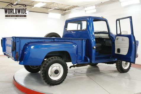 1958 International A120 RARE SHORTBOX 4X4 4-SPEED MUST SEE | Denver, CO | Worldwide Vintage Autos in Denver, CO