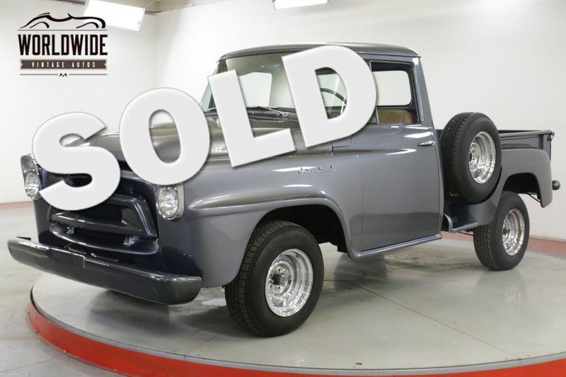 1958 International TRUCK RESTORED $30K BUILD AC AUTO HOT ROD SHORTBED | Denver, CO | Worldwide Vintage Autos
