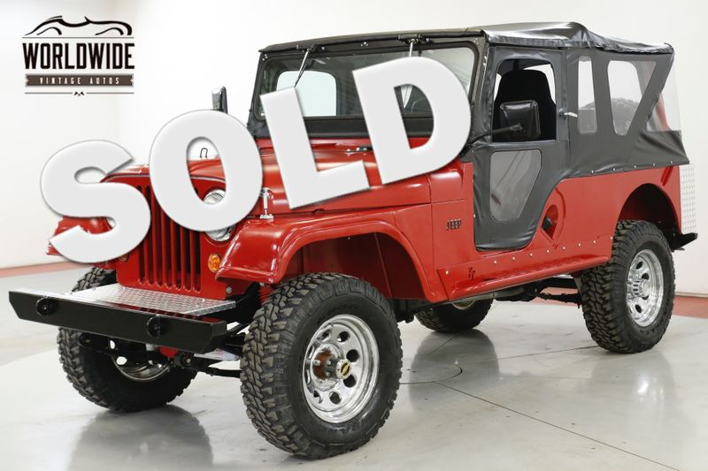 1958 Jeep CJ6 WILLYS 1K MILES ON BUILD RARE LIFT CJ5 CJ7  | Denver, CO | Worldwide Vintage Autos
