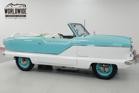 1958 Nash METROPOLITAN  CONVERTIBLE. GREAT COLOR COMBO FRESH PAINT! | Denver, CO | Worldwide Vintage Autos in Denver, CO