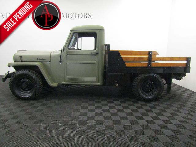 1958 Willy PICK UP I6 4X4 REBUILT