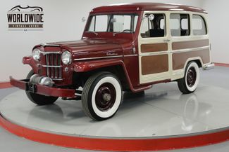 1958 Willys WAGON RESTORED RARE EXAMPLE NUMBERS MATCHING | Denver, CO | Worldwide Vintage Autos in Denver CO
