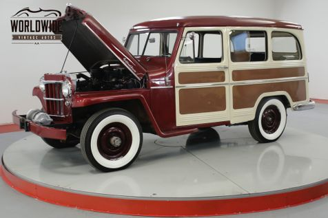 1958 Willys WAGON RESTORED RARE EXAMPLE NUMBERS MATCHING   Denver, CO   Worldwide Vintage Autos in Denver, CO