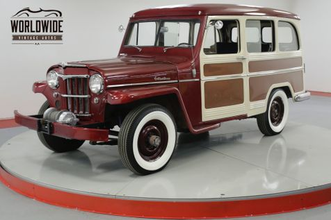 1958 Willys WAGON 4X4 RESTORED RARE EXAMPLE NUMBERS MATCHING | Denver, CO | Worldwide Vintage Autos in Denver, CO