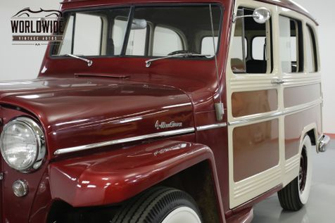 1958 Willys WAGON RESTORED RARE EXAMPLE NUMBERS MATCHING | Denver, CO | Worldwide Vintage Autos in Denver, CO