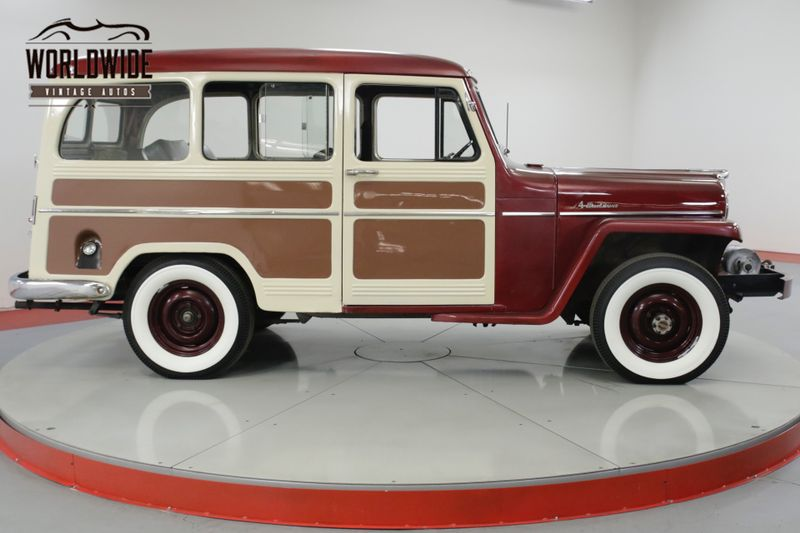 1958 Willys WAGON RESTORED RARE EXAMPLE NUMBERS MATCHING | Denver, CO |  Worldwide Vintage Autos | Denver CO 80216