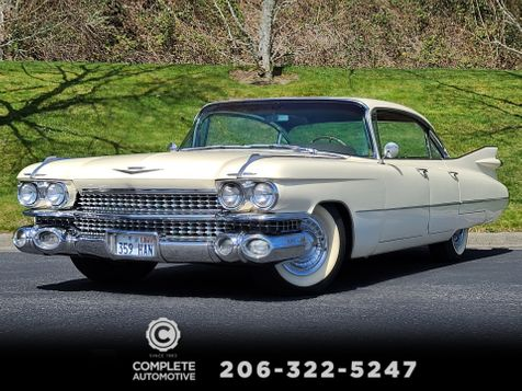 1959 Cadillac Sedan deVille   Factory Air Power Windows New Leather Interior in Seattle